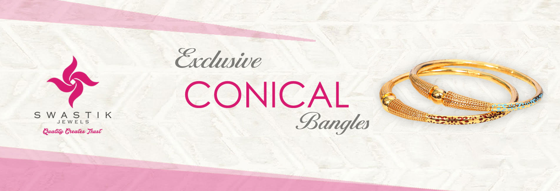Conical Bangles
